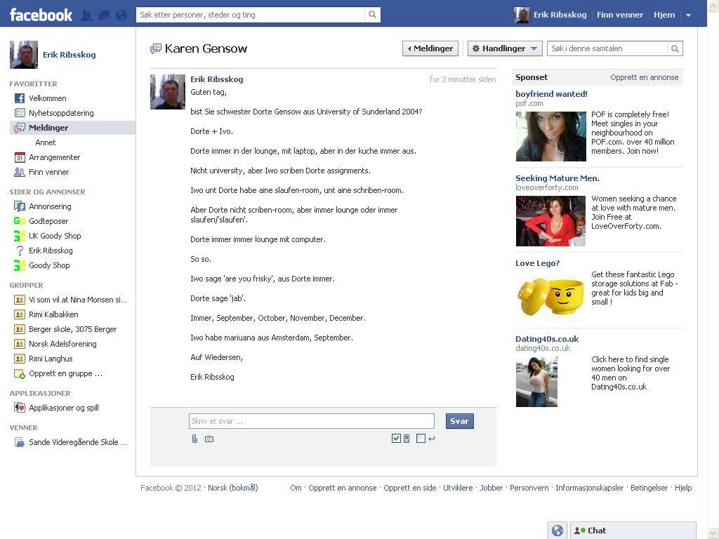facebook karen gensow