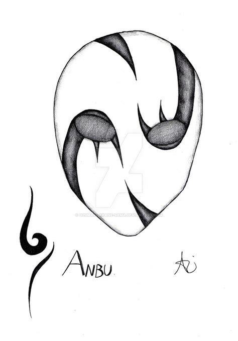 anbu mask  uzumaki akane sama  deviantart