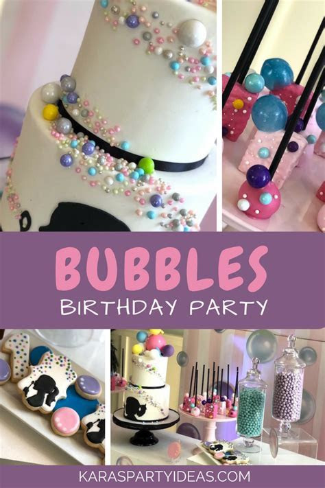 Kara's Party Ideas Bubbles Birthday Party   Kara's Party Ideas