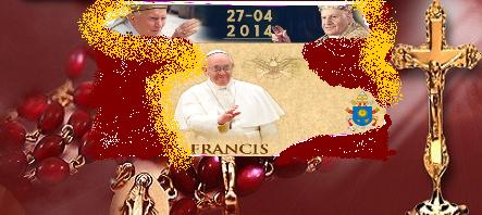 John Paul II. + JOHN XXIII.