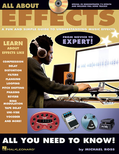Hal Leonard - All About Effects Instructional Book and CD - Larger Front
