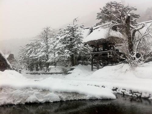 Shirakawa-go in the morning 4