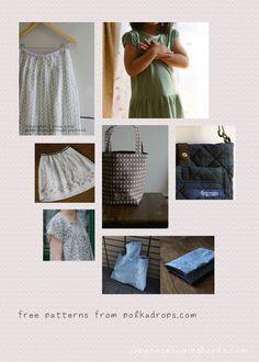 Free pattern site on Pinterest