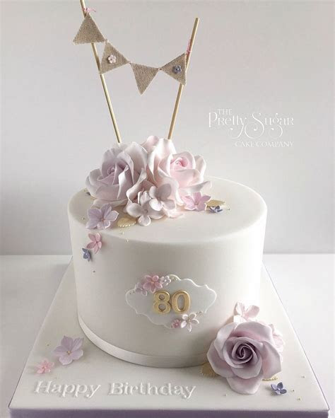 Best 25  80th birthday cakes ideas on Pinterest   65