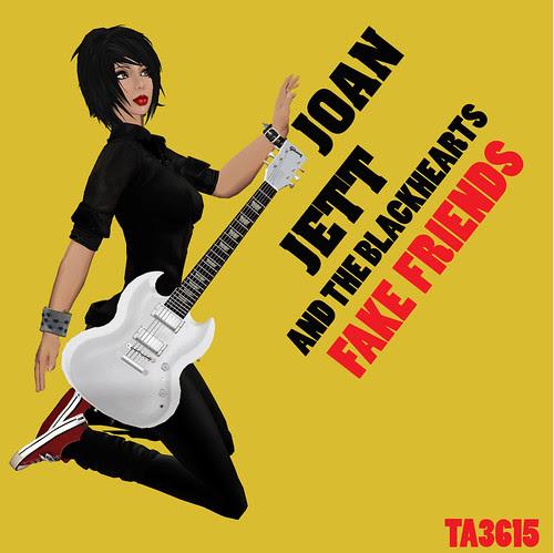 Vain Inc. Magazine Issue 19 - March 2009 - Joan Jett Album Cover