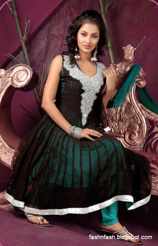 Anarkali Umbrella Fancy Frocks-Indian-Pakistani New Latest Dress Designs Collection 2013-5