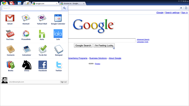 Google Chrome OS