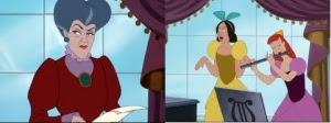 ibu dan kakak tiri Cinderella
