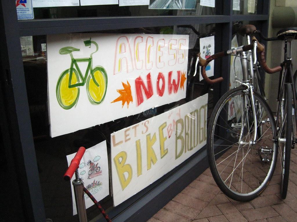 East Bay Bike Coalition space in Frutivale