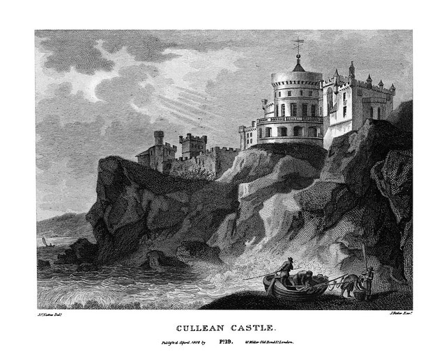 etching: Cullean Castle