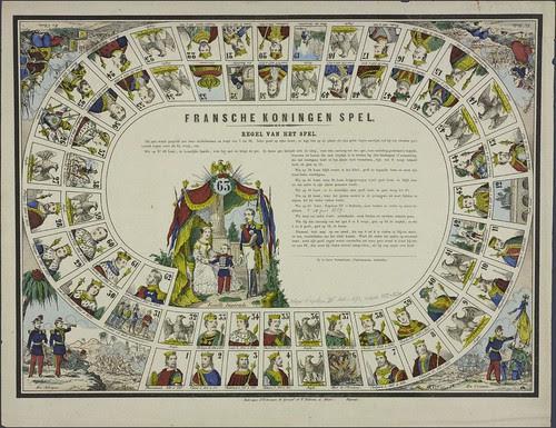 Fransche koningen spel by G + P Didion 1828-1851