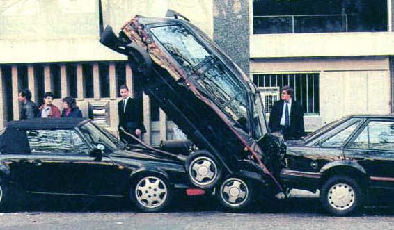 Car crash in France