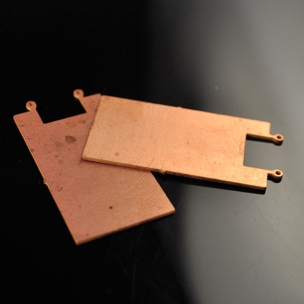 s47530 Stamped Metal Component -  Sign - Raw Copper (1)