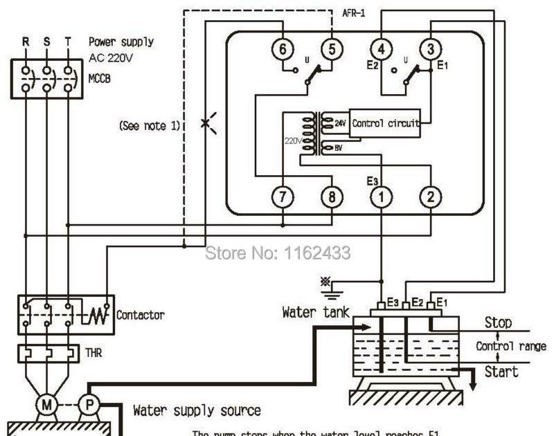 Contactor Wiring Diagram With Float Switch