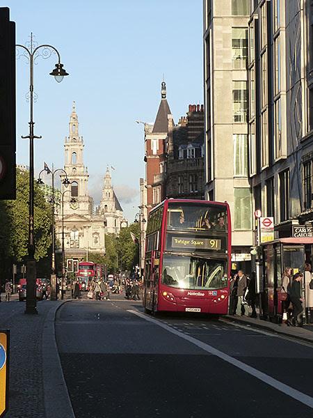 91 to Trafalgar Square