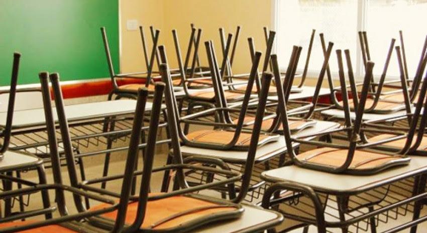 aulas vacias clases suspendidas
