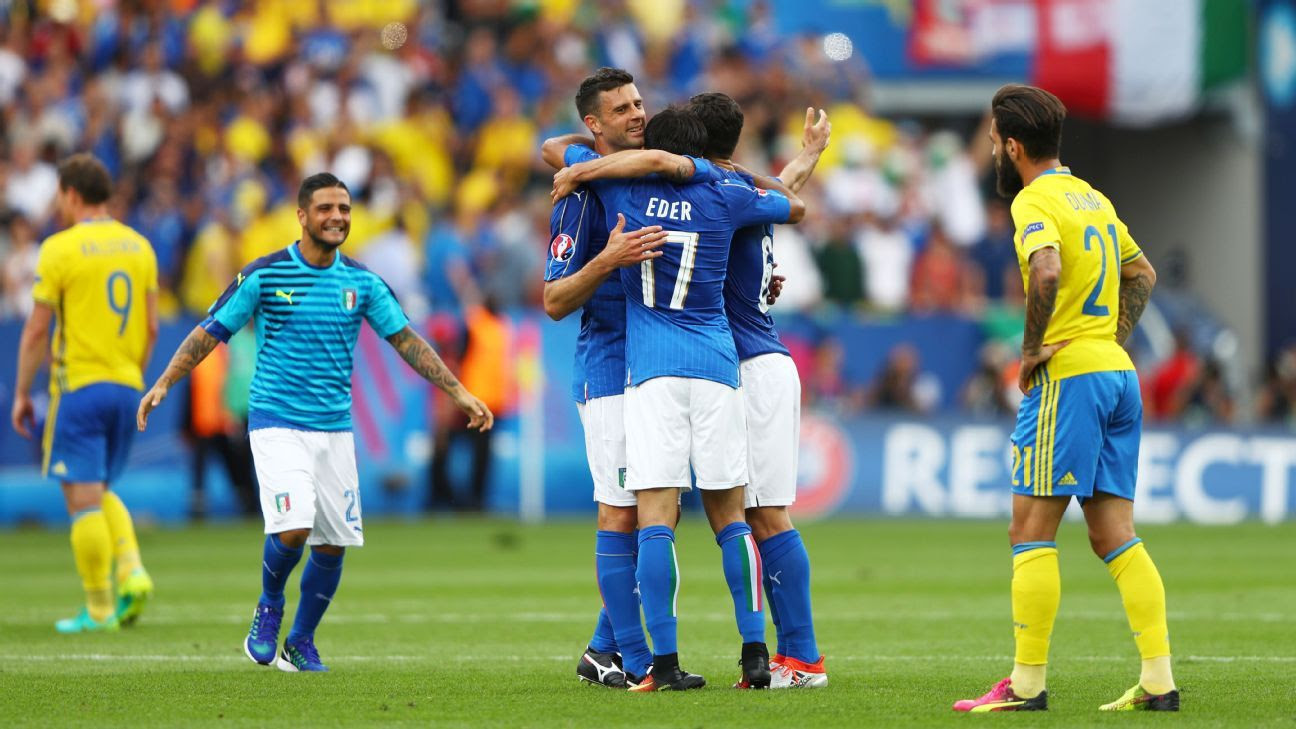Italy coach Antonio Conte hails win in 'rough' Euro 2016 ...
