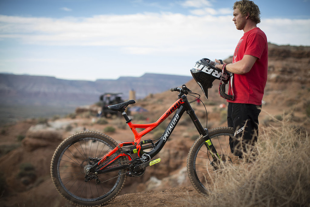 Kyle Norbraten at Redbull Rampage 2012