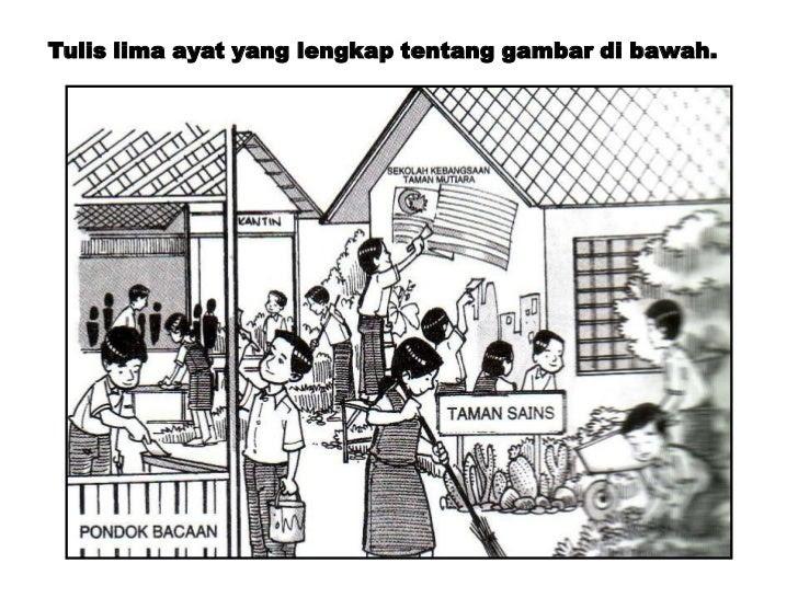 Gambar Kartun Kerjasama Di Lingkungan Rumah Gambar Slidehdco