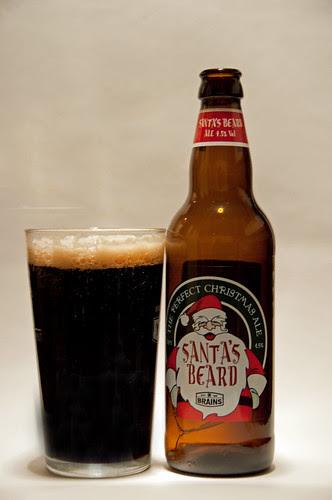 Brains Santa's Beard