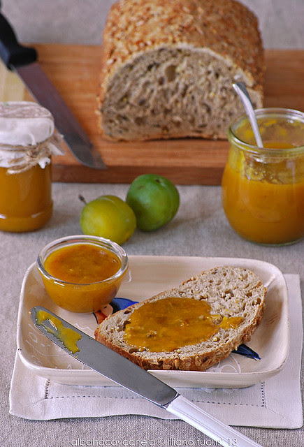Plum marmalade