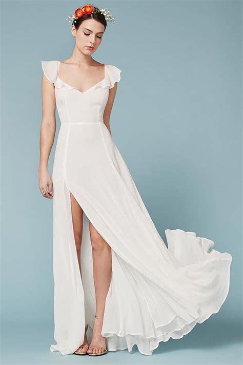 Shop Reformation Spring 2016 Wedding Dresses   Fashion