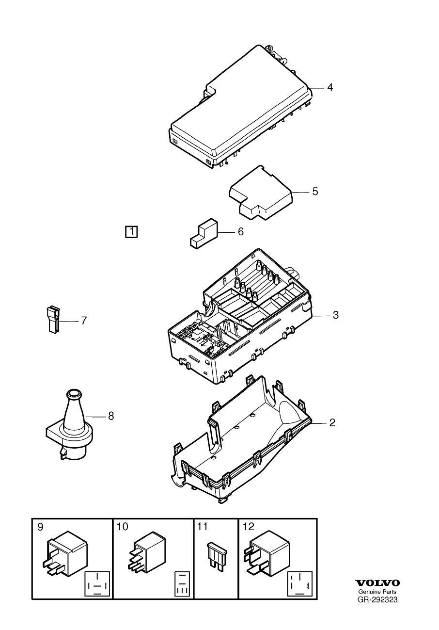 899 Volvo Xc90 Fuse Box Diagram Wiring Resources