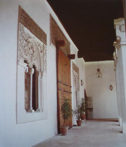 Palacio de Fuensalida en 1979. Crujía sur del patio