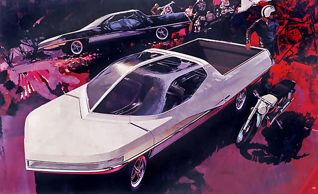 ... future pick-up - Syd Mead