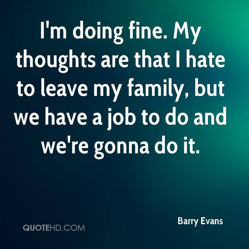 Barry Evans Quotes Quotehd