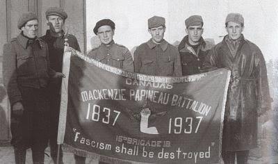 Los judíos en las Brigadas Internacionales.