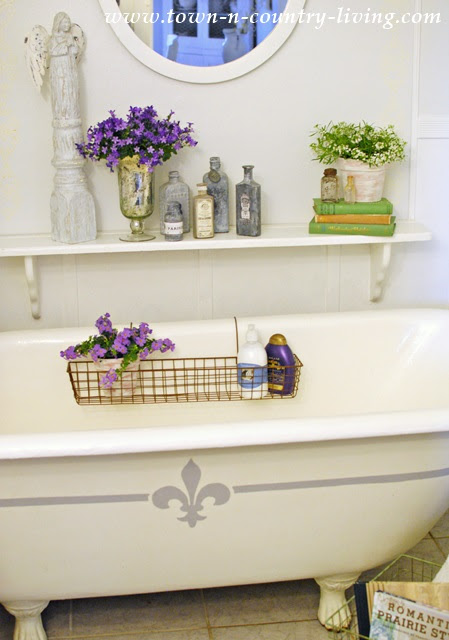 How I Made Bathing Easier With Wire Baskets Town Country Living