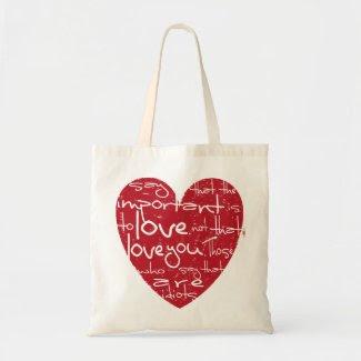 Heart. bag