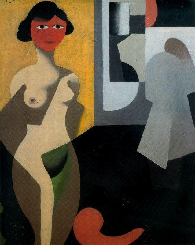 The Model, 1922Rene Magritte
