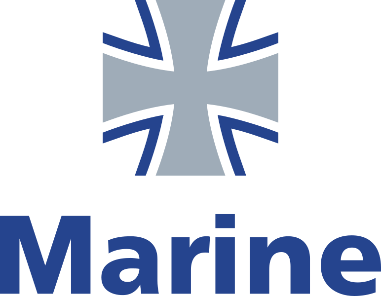 File:Bundeswehr Logo Marine with lettering.svg