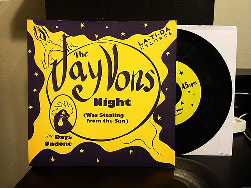 "The Jay Vons - Night (Was Stealing From The Sun) 7"" by Tim PopKid"