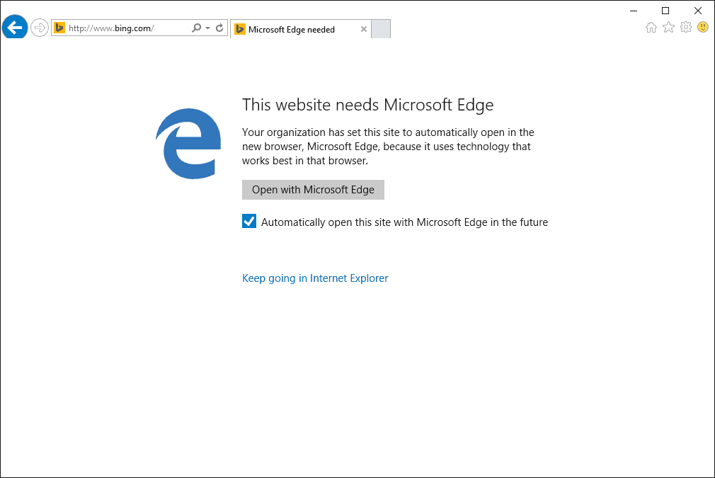 neededge Microsoft making it as easy for Enterprise customers to upgrade to IE 11 and Windows 10