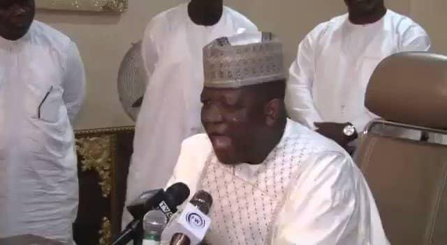 'If Your Father Born You Well, Come To Zamfara!' – See Governor Yari Warn Oshiomhole