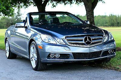 2012 Mercedes-benz E350 Convertible Cabriolet 2011 2013 ...