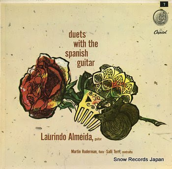 ALMEIDA, LAURINDO duets with the spanish guitar