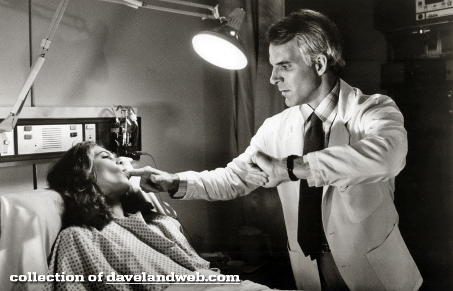 Kathleen Turner and Steve Martin in The Man With Two Brains photo