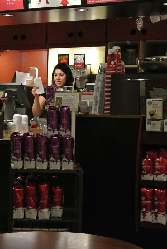 Unedited our Starbucks