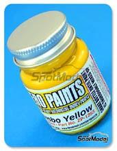 Pintura Zero Paints - Amarillo Brembo - Brembo Brake Yellow - 30ml para Aerógrafo