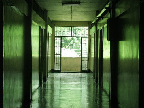 Dorm hallway