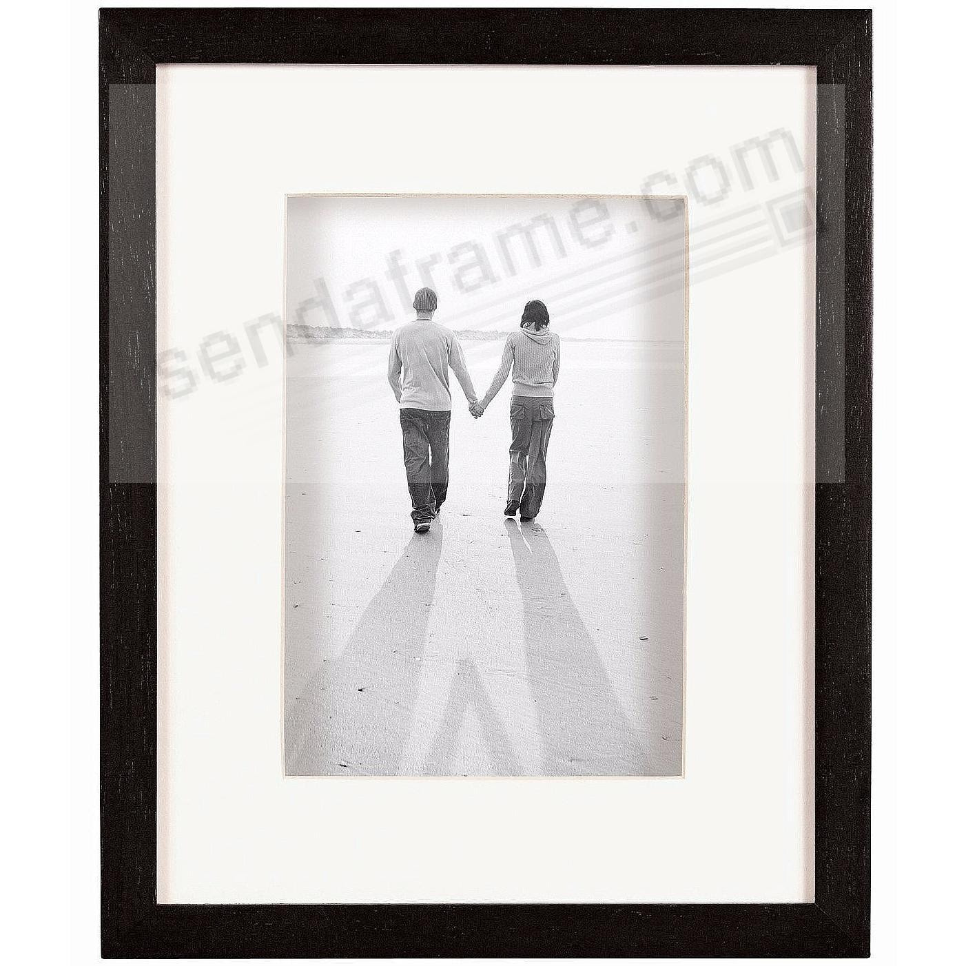 Dakota Black Shadow Box 11x148x10 Frame Wivory Mat By Mcs