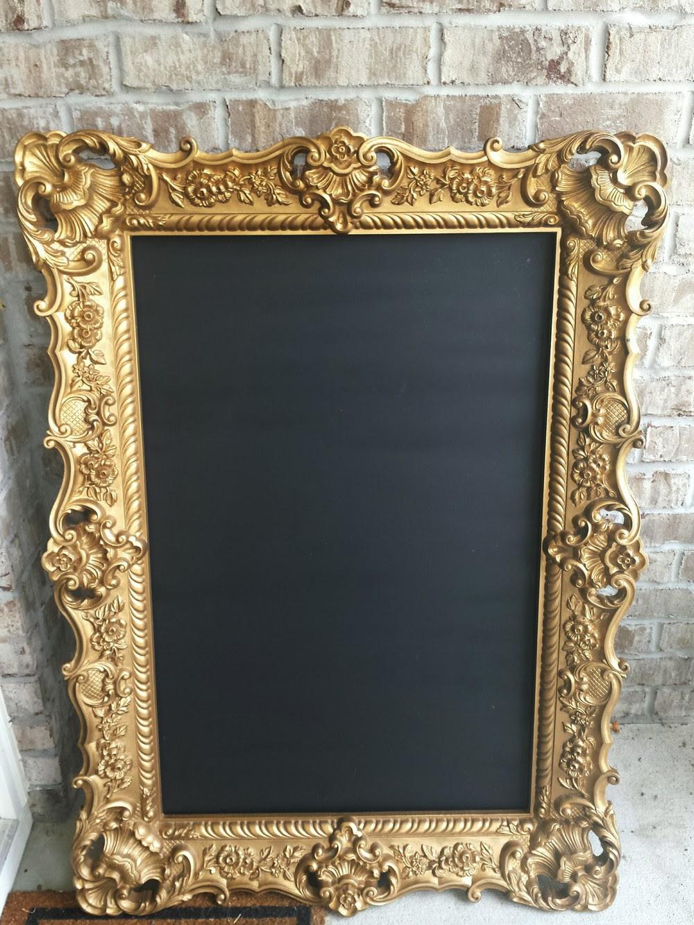 Extra Large Gold Frame Savannah Vintage And Antique Furniture