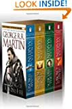 A Game of Thrones box set by George R. R. Martin book cover image