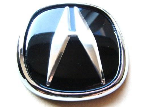 Automotive Exterior Accessories Acura Jdm Black Hood Trunk Emblem Logo Badge Integra Rsx Type R