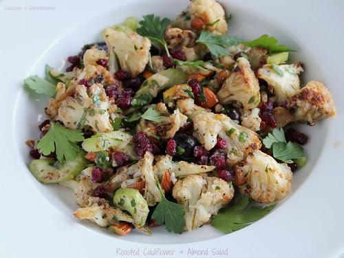 Roasted Cauliflower & Almond Salad 2