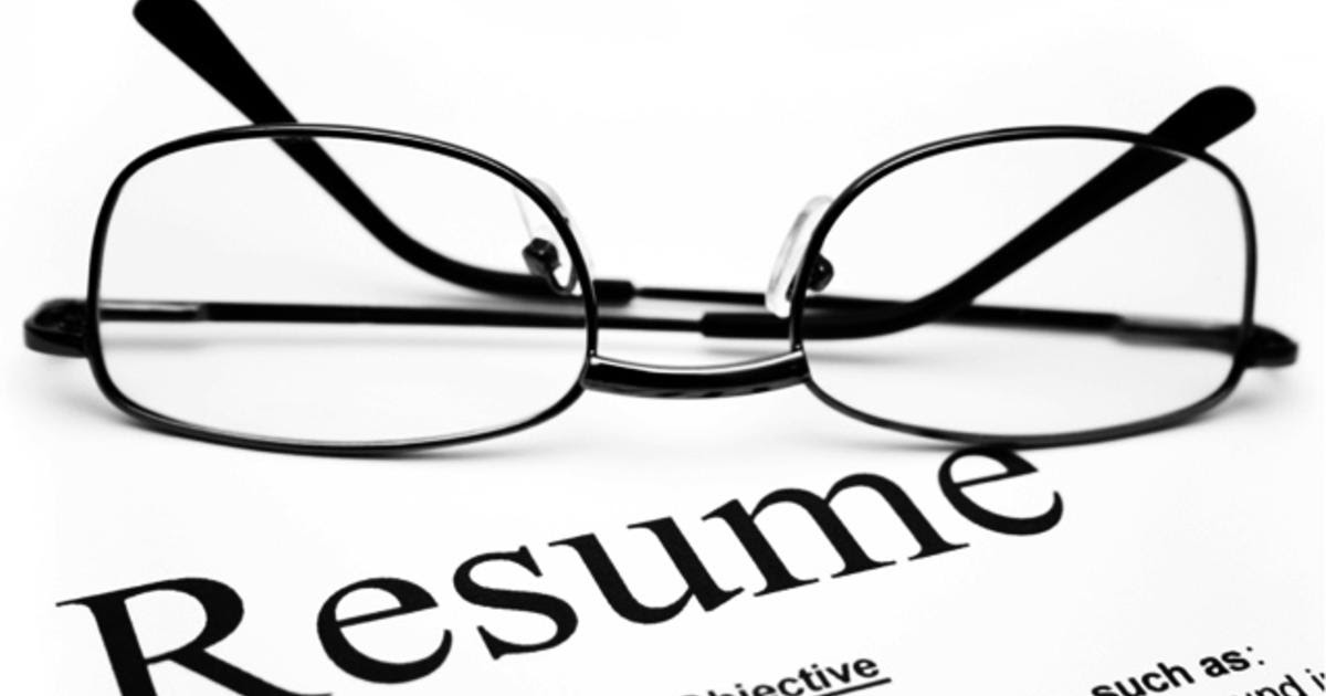 How far back should your resume go?  CBS News